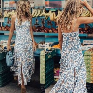 Spell and the gypsy ETIENNE STRAPPY DRESS MONACO
